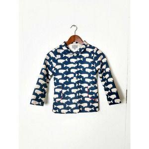 La Miniatura Unisex Little Boys Girls 8 Whale Coat
